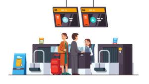 空港での英会話