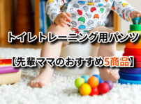 トイレトレーニング用パンツ【先輩ママのおすすめ5商品】