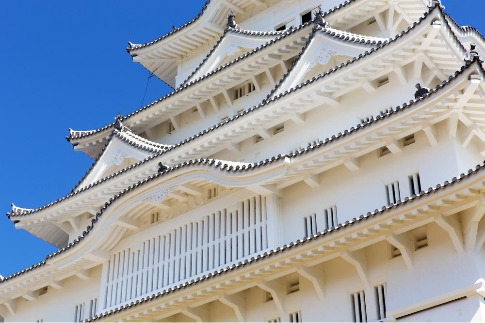 姫路城の本漆喰